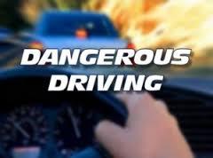 Dangerous driiving image